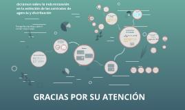 INDEMNIZACIÓN POR LA EXTINCIÓN DE LOS CONTRATOS DE AGENCIA Y