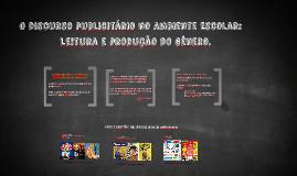 Discurso publicitário na escola