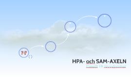 HPA- och SAM-AXELN