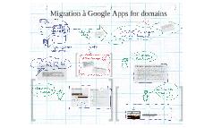 Migration à Google Apps for domains