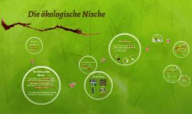 die kologische nische by johanna mller on prezi - Okologische Nische Beispiel