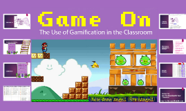 Game On!  The Use of Gamification in the Classroom JPC Version