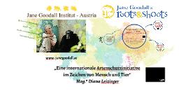 Jane Goodall Institut - Austria Tierschutz macht Schule