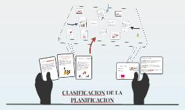 Copy of CLASIFICACION DE LA PLANIFICACION