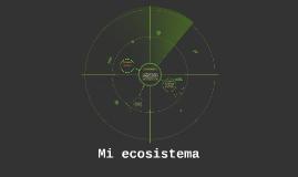 Mi ecosistema