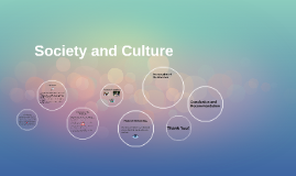 Copy of Society and Culture