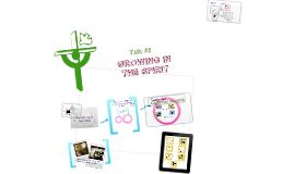 Talk # 5 Growing in the spirit