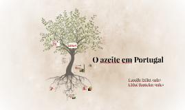 O azeite em Portugal