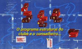 O programa Estrutural do Clube e o Conselheiro