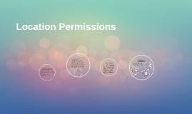 Location permissions