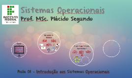 Sistemas Operacionais - Aula 01