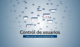 Control de usuarios
