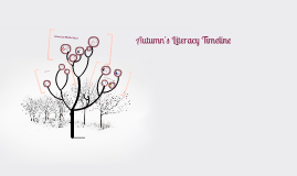 Autumn's Literacy Timeline