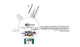 Institucional CONES. 2012