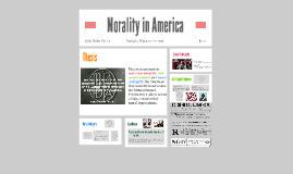 Morality in America