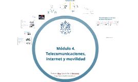 Mod-4 Telecomunicaciones, internet y movilidad