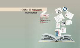 Copy of Manual de redaccion empresarial.
