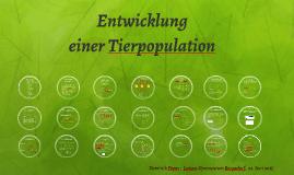 Entwicklung einer Tierpopulation