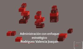 Administración con enfoque estratégico