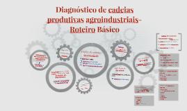 Diagnóstico de cadeias produtivas agroindustriais- Roteiro
