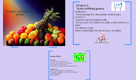 Project: selling fruit