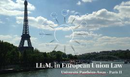 LL.M. in European Union Law