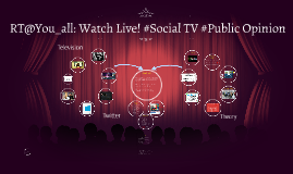 RT: Watch Live! #Social TV #Public Opinion