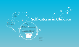 Copy of Self-esteem in Children
