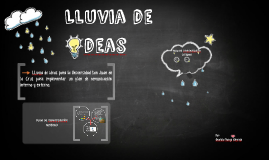 Copy of LLuvia de ideas