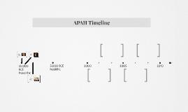 APAH Timeline