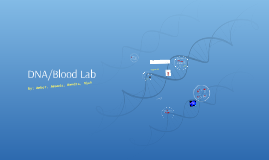 DNA/Blood Lab