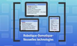 Copy of La Robotique
