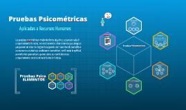 Copy of Pruebas Psicometricas en el ambito Organizacional.