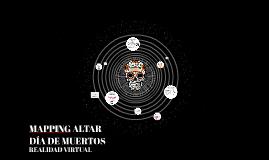 MAPING DÍA DE MUERTOS
