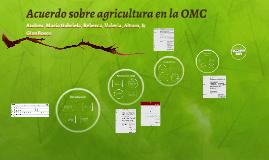 Acuerdo agricultura