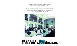 Comisiones de Postulacion 2014