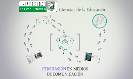 PERSUASIÓN EN MEDIOS DE COMUNICACIÓN