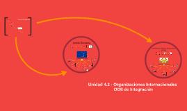 Unidad 4.2 - Organizaciones de Integración