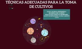 TOMA DE CULTIVOS  INTRAHOSPITALARIOS