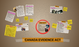 CANADA EVIDENCE ACT