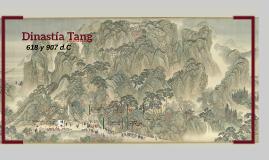 Dinastía Tang (618 y 907 d.C.)