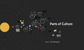 Parts of Culture