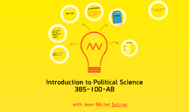 Introduction to Political Science - Lecture I: Welcome