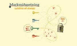 Copy of Markmiðasetning
