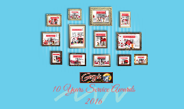 10 Years Service Awards
