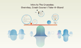 Intro to the Crusades