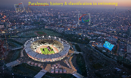 Nis 2012 seminar Paralympic history & classification in swimming