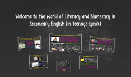 We all use literacy and numeracy everyday; often without eve