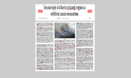 Tension high in Alberta oilsands region as wildfires cause e