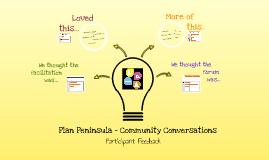 Plan Peninsula